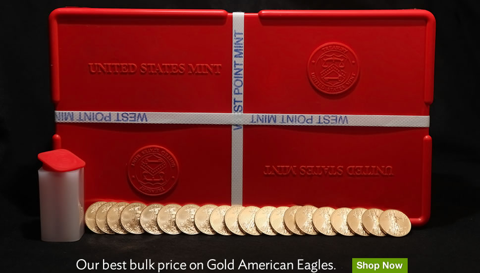 Gold Bullion Coins American Eagle Monster Box Silver